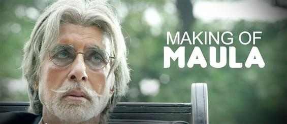 Making of 'Maula' video song from Wazir