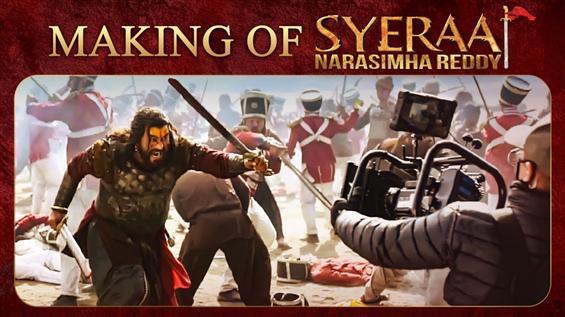 Making of Sye Raa Narasimha Reddy looks grandeur a...