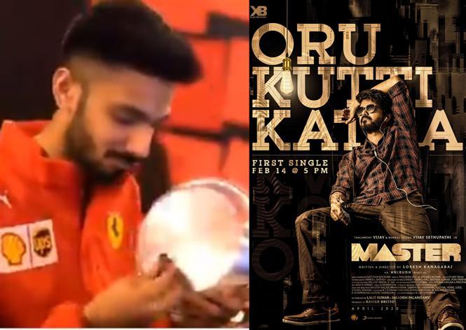 Master: Anirudh gives a tease of Oru Kutti Kathai!