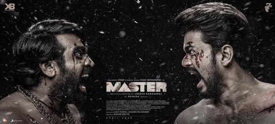 Master Third Look ft. Vijay and Vijay Sethupathi