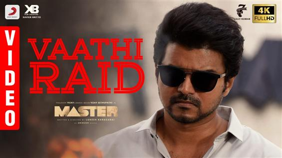 Master Vaathi Raid Video Song Out Now!