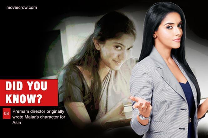 MC: Did You Know 08 - Premam director wrote Malar for Asin!