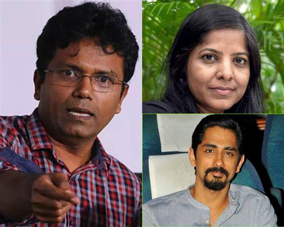 Me Too: Susi Ganesan files defamation suit, Leena Manimekalai calls him a 'thug' for threatening Siddharth!
