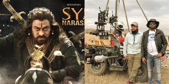 Megastar Chiranjeevi's Sye Raa Narasimha Reddy sho...