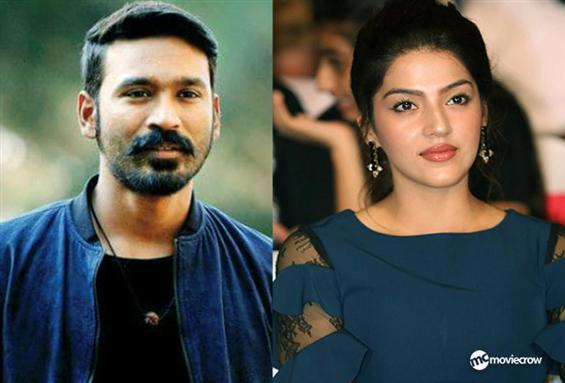 Mehreen Pirzada to play the female lead in Dhanush...