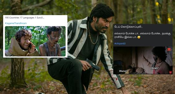Memes on Jagame Thandhiram drag makers of the movi...