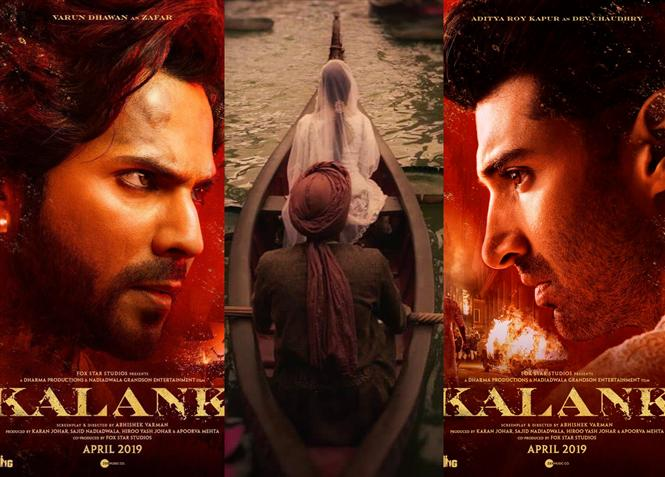 Men of Kalank introduced through First Look Posters!