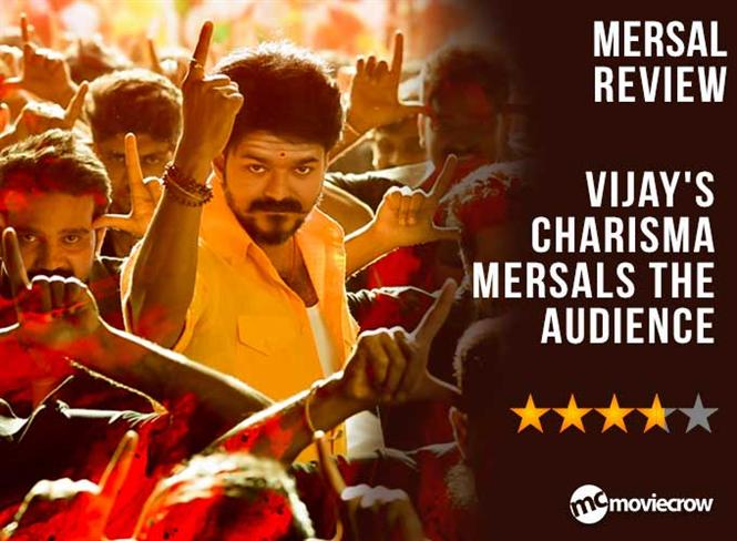 Mersal Review - Vijay's charisma mersals the audience