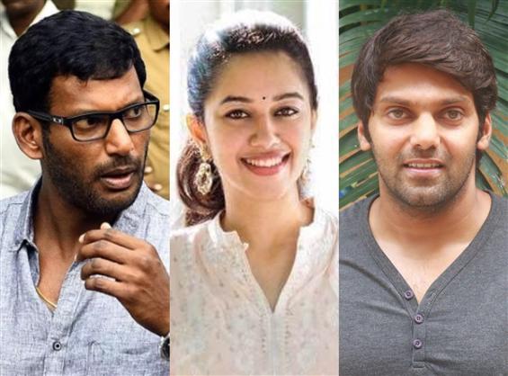 Mirnalini Ravi begins Vishal, Arya film!