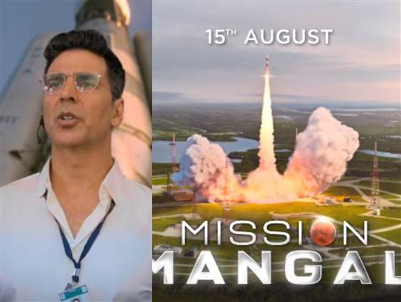 Mission Mangal Teaser: Akshay Kumar & team take us...
