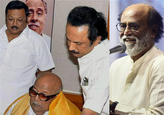 M.K. Azhagiri pokes Rajinikanth in DMK Turf War!