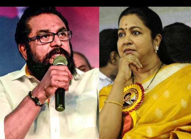 MNM Allies Sarathkumar, Radikaa get one year jail term!