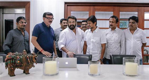 Mohanlal Unveils Nimir title poster