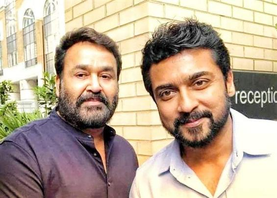 Mohanlal wraps shooting for Kaappaan & other lates...