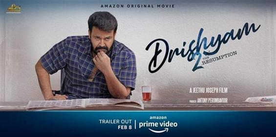 News Image - Mohanlal's Drishyam 2 gears up for OTT premiere, trailer released now!  image