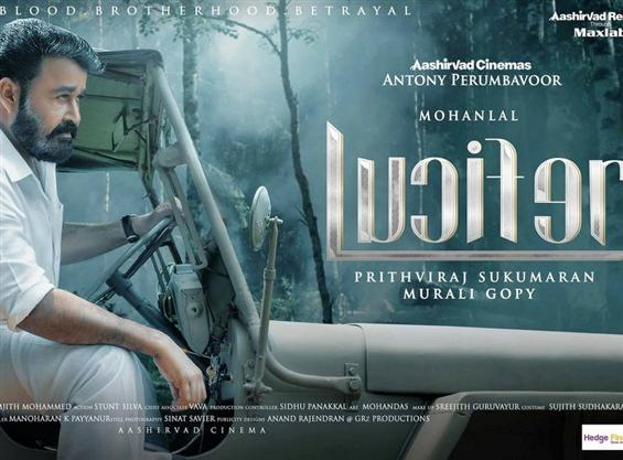 Mohanlal's Lucifer Character posters