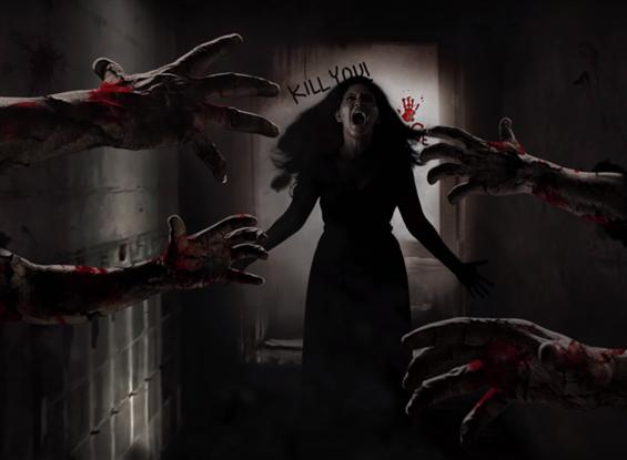 Motion Poster of 3D horror film Lisaa feat. Anjali