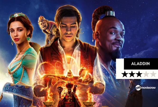 Movie Review: Aladdin and the Genie enchant us with their wizardry!