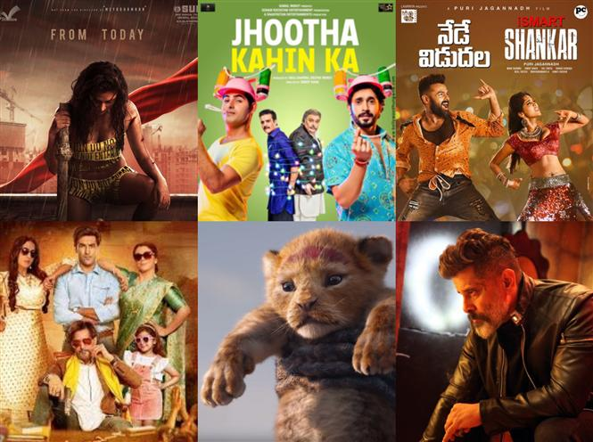 Movies This Week: Aadai inches ahead of Kadaram Kondan, The Lion King!