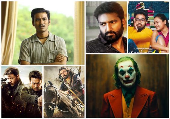 Movies This Week: Asuran ahead of Sye Raa, Joker in the ace game!