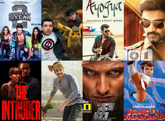 Movies This Week: Ayogya, Pokeman Detective Pikachu save the day!