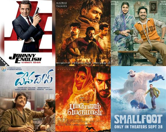 Movies This Week: Chekka Chivantha Vaanam, Pariyerum Perumal dominate the scene!
