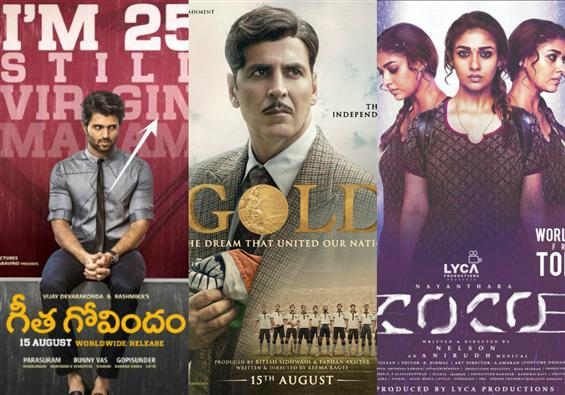 Movies This Week: Gold shines, so does Geetha Govindam & Kolamaavu Kokila