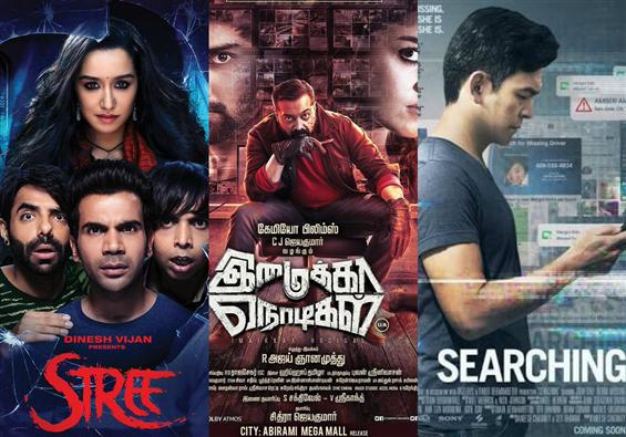 Movies This Week: Imaikaa Nodigal, Stree, Searching emerge on top!