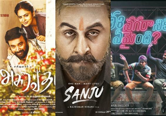 Movies This Week: Ranbir Kapoor starrer Sanju steals the show!