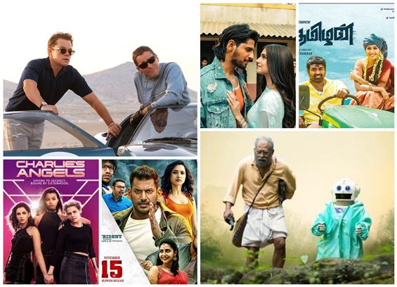Movies This Week: Unconventional Takes Over with Ford V Ferrari, Android Kunjappan Ver 5.25!