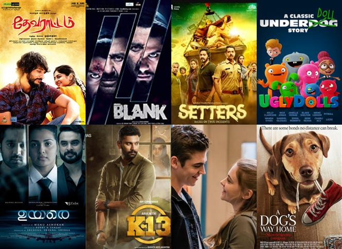 Movies This Week: Uyarae takes top spot while K13, A Dog's Way Home Entertain!