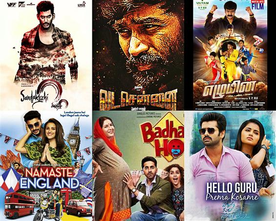 Movies This Week: Vada Chennai, Badhaai Ho walk aw...