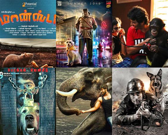 Movies with animals trending in Kollywood: 8 Upcom...