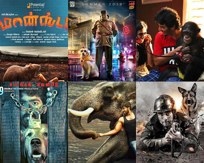 Movies with animals trending in Kollywood: 8 Upcoming Films bear testimony!