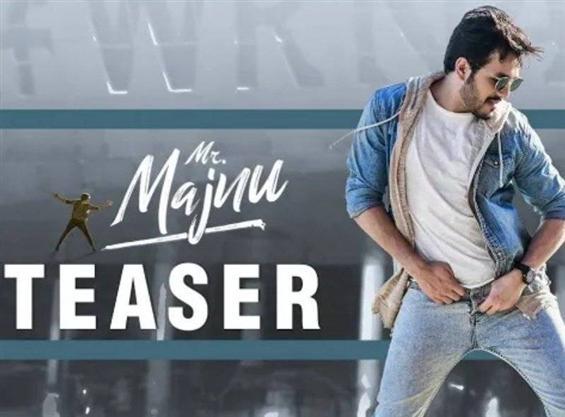 Mr Majnu teaser feat. Akhil Akkineni
