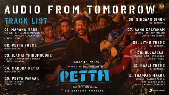 Music album of Rajinikanth's Petta has a whopping ...