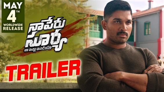 Naa Peru Surya Naa Illu India Trailer feat. Allu Arjun