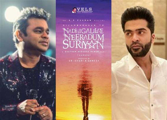 Nadhigalilae Neeradum Suriyan: A.R. Rahman begins composing for Simbu's film!