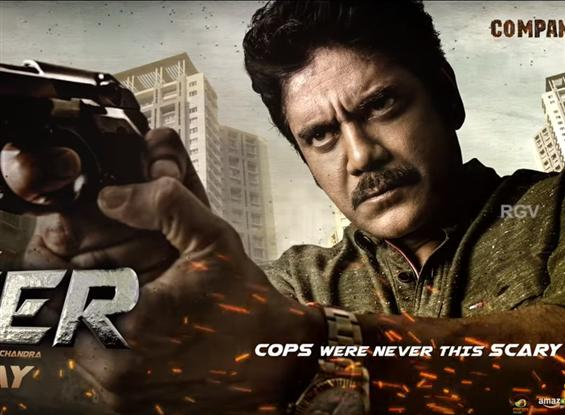 Nagarjuna Ram Gopal Varma Officer First Look