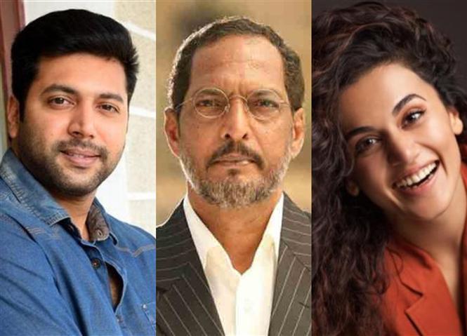 Nana Patekar in Jayam Ravi, Taapsee starrer Jana Gana Mana?