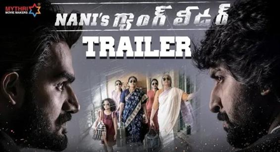 Nani's Gang Leader Trailer is a perfect blend of suspense and humour