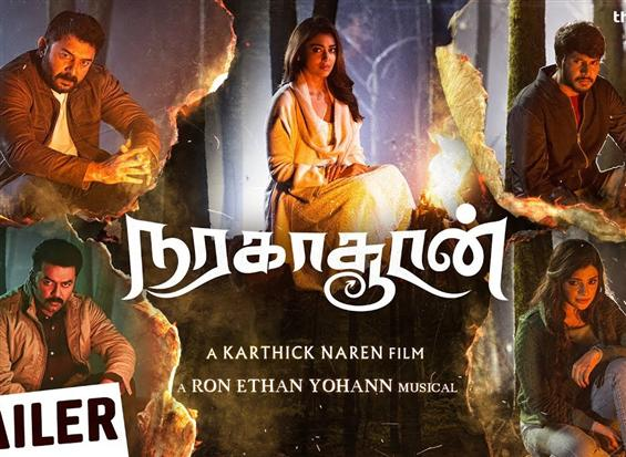 Naragasooran Trailer: Mystery Suspense Thriller from Karthik Naren