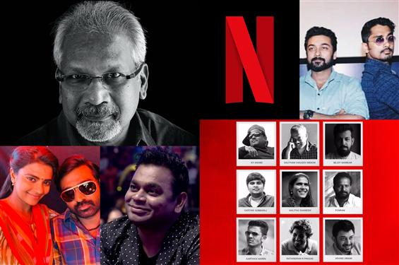 Navarasa: Official Cast & Crew of Maniratnam's Net...