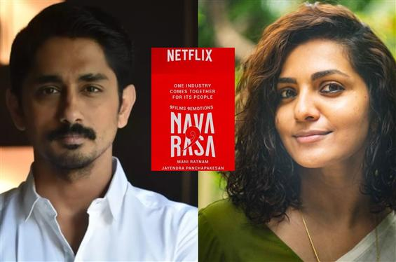 Navarasa: Siddharth, Parvathy star together in Man...