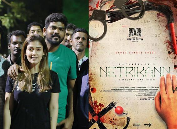 Nayanthara, Vignesh Sivan's Netrikann gets a new addition!