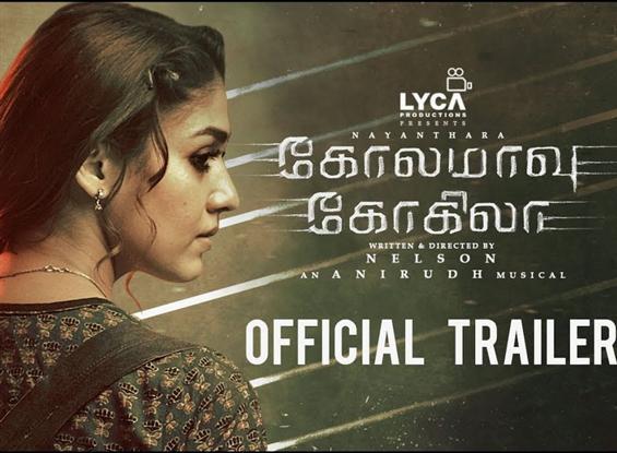 Nayanthara's Kolamaavu Kokila Trailer