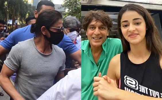 NCB visits SRK, Ananya Pandey's house! Summons act...