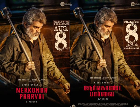 Nerkonda Paarvai Release Date Advanced!