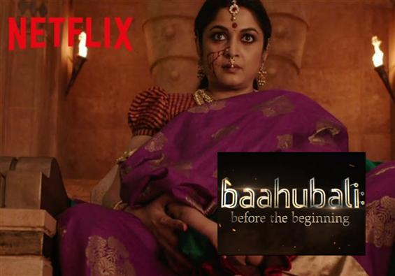 Netflix series announced for S.S. Rajamouli's Baahubali!
