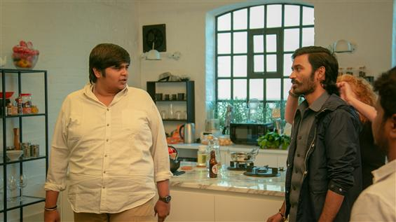 Netflix unveils new Jagame Thandhiram Working Stil...